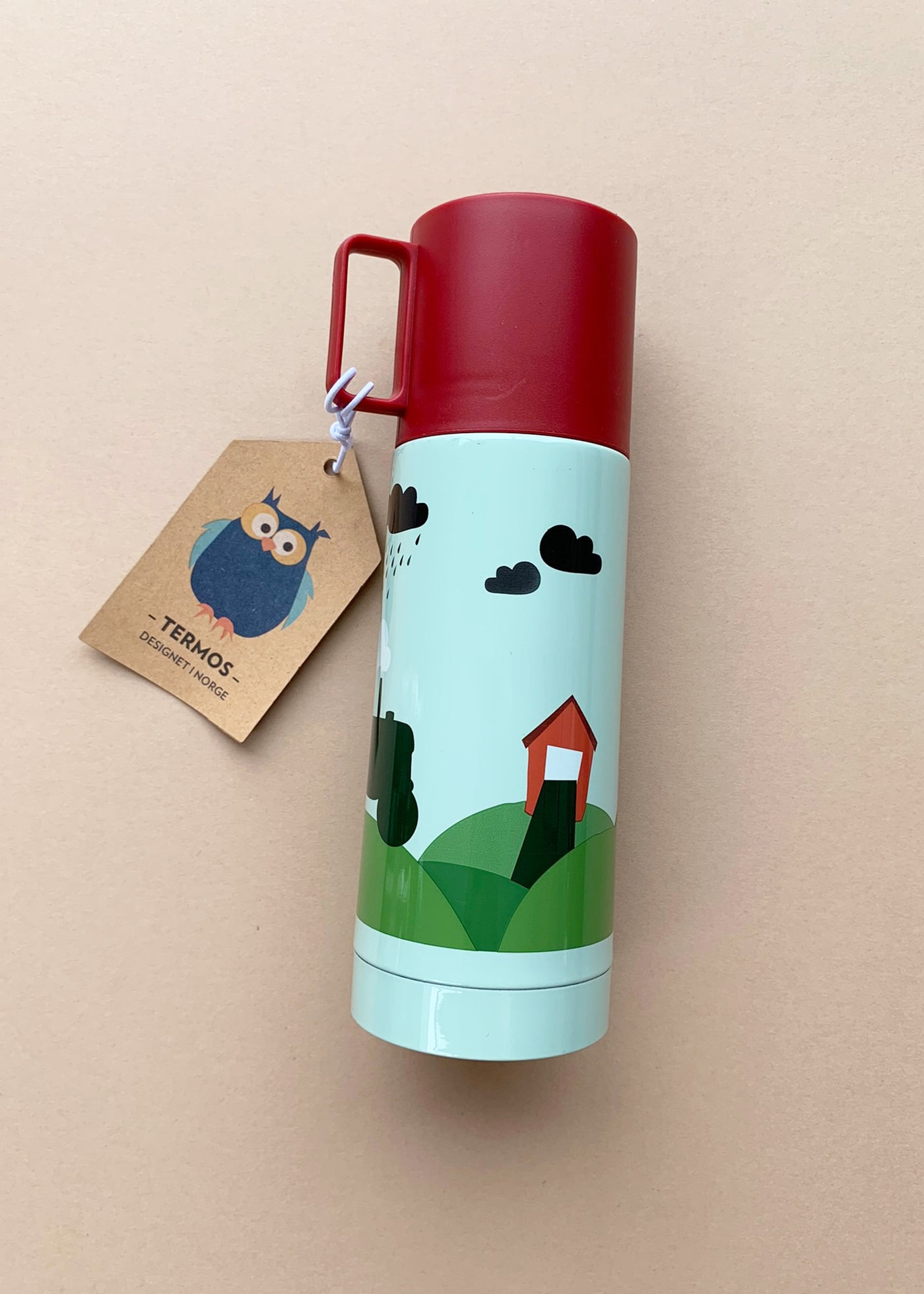Blafre 330ml Vacuum Flask with Tractor and Farm