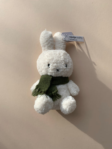 Popcorn Miffy with Green Scarf 23cm