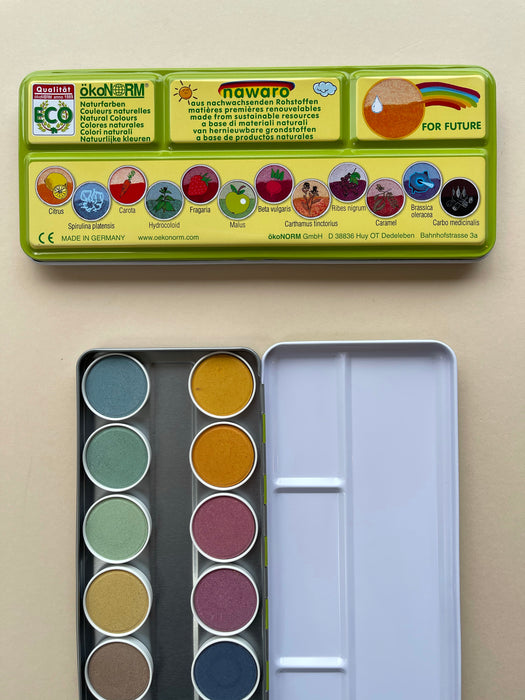 OkoNorm Natural Watercolour Paint Box
