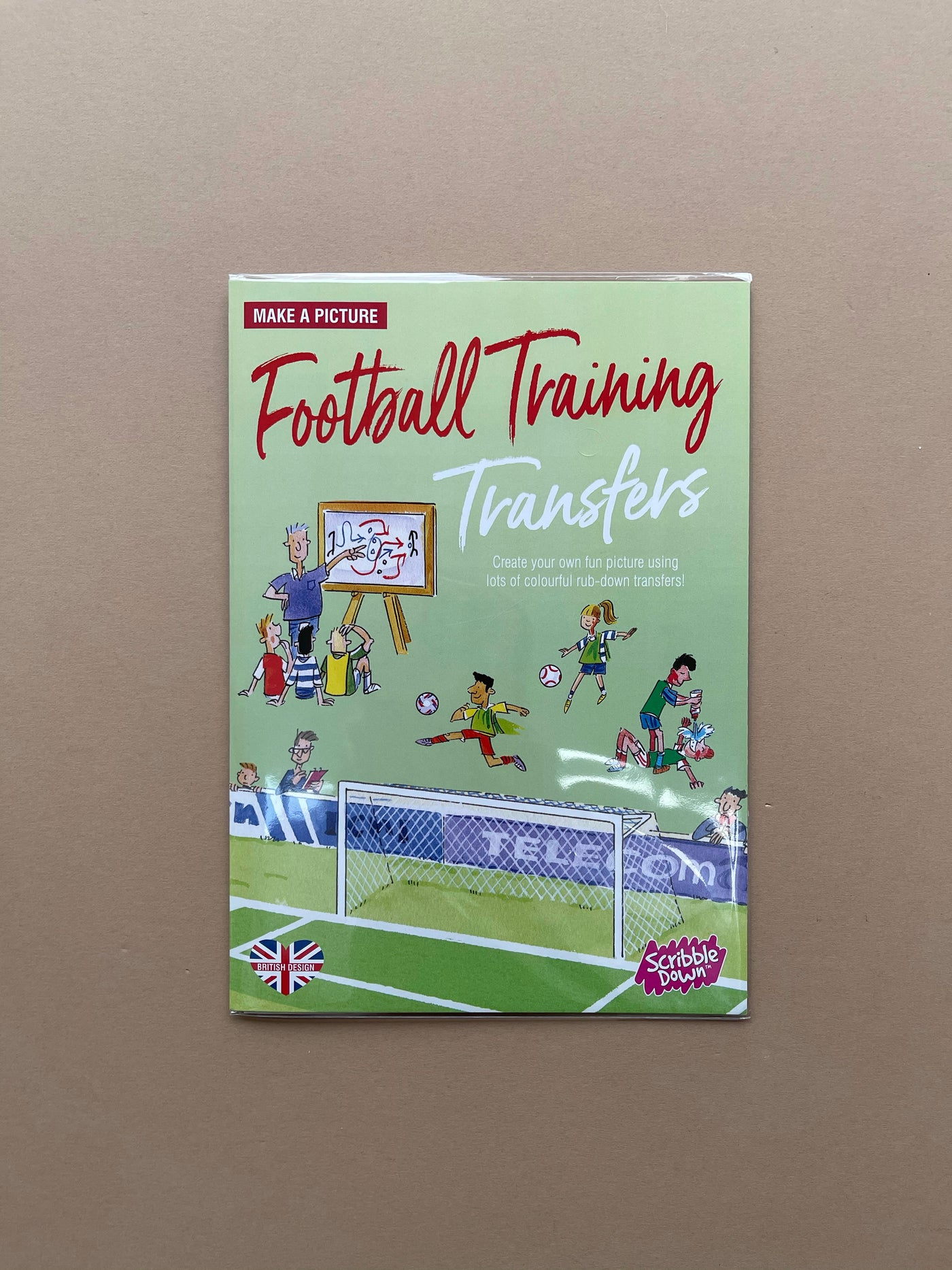 Scribble Down Football Training Transfers