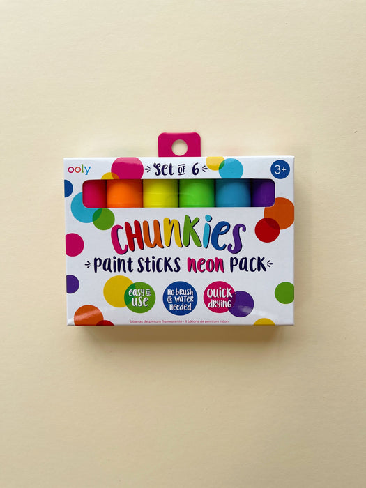 Ooly | Chunkies Poster Paint Sticks- Neon