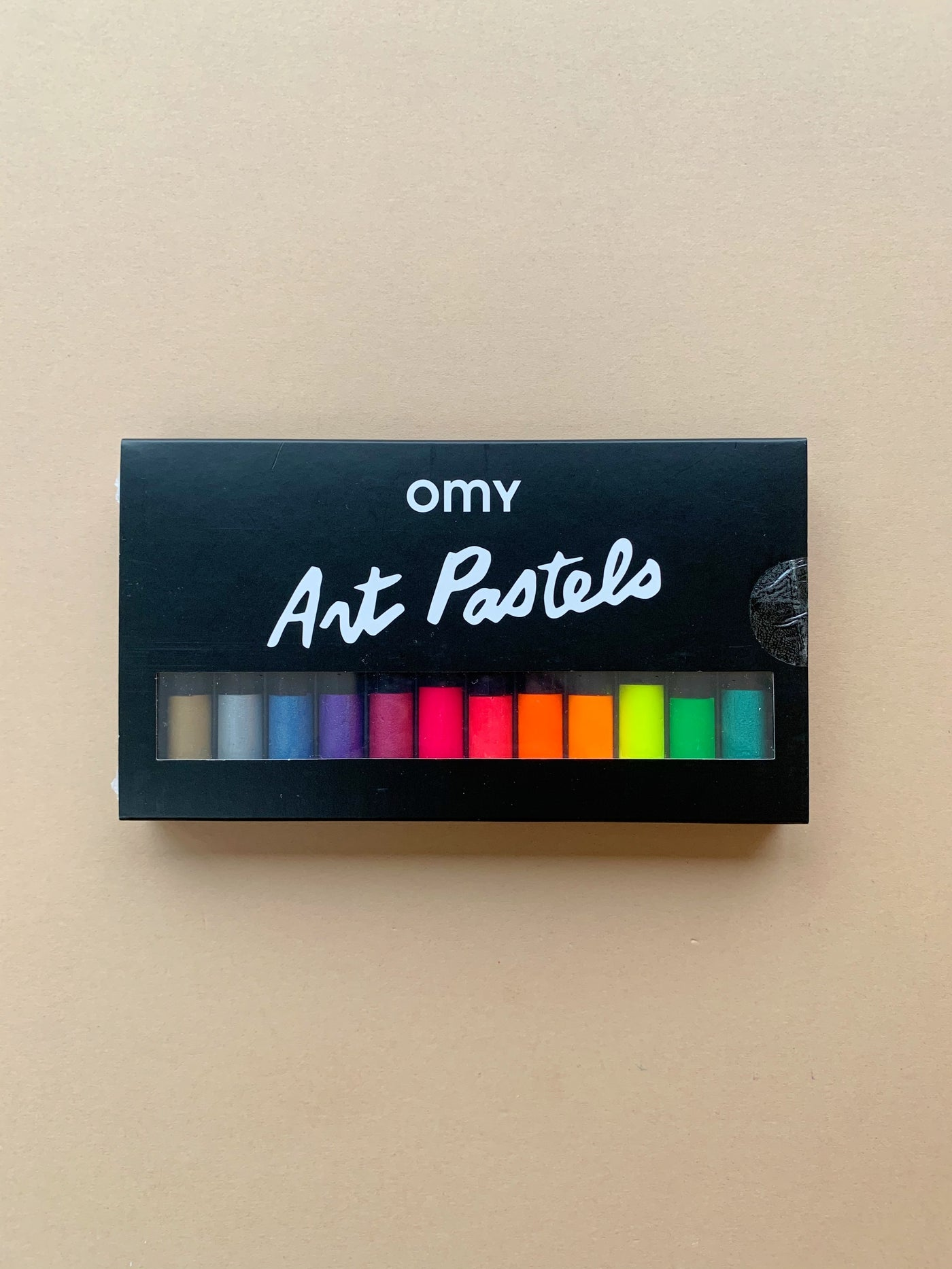 OMY 12 Neon and Metallic Oil Pastels