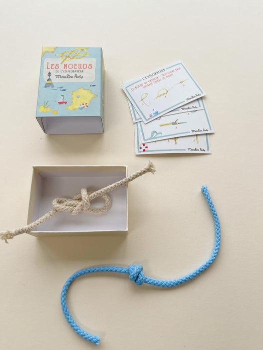 Moulin Roty | Sailor's Knots in a Matchbox