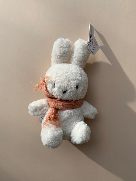 Popcorn Miffy with Peach Scarf 23cm