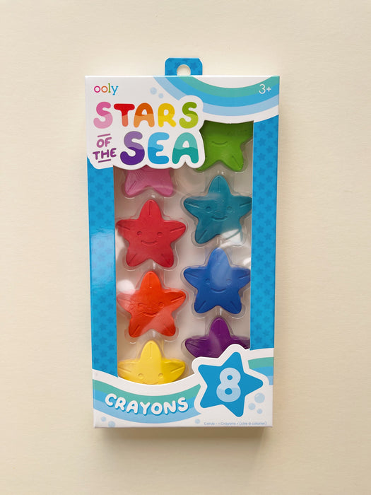 Ooly | Stars of the Sea Starfish Crayons