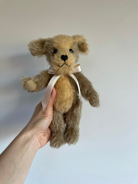 Merrythought Handmade Mohair Digby Dog 9""