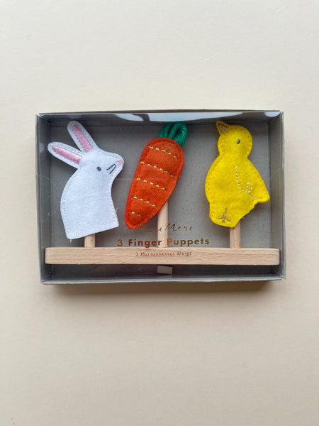 Meri Meri Set of Easter Finger Puppets