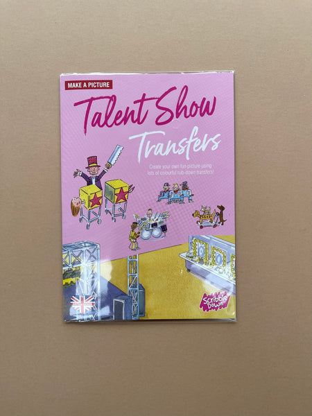 Scribble Down Talent Show Transfers
