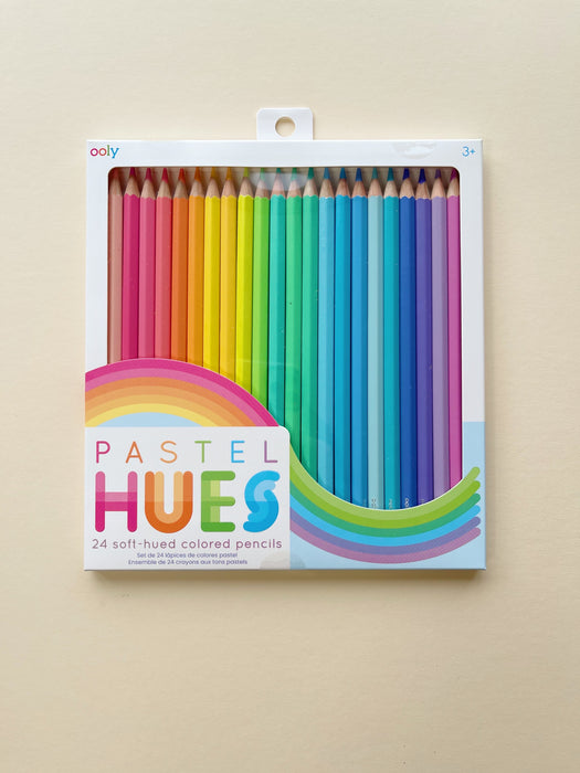 Ooly | Set of 24 Pastel Hues Coloured Pencils