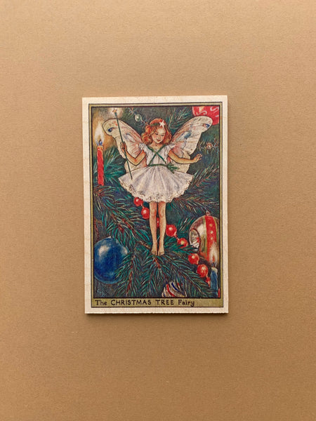 The Wooden Postcard | Christmas Tree Fairy