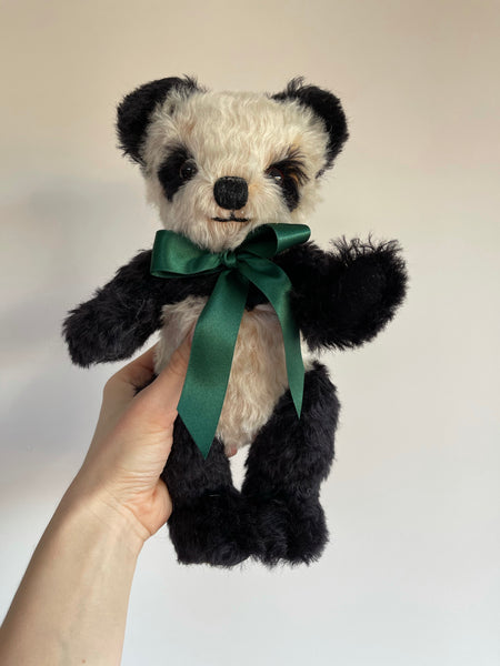 Merrythought Handmade Antique Panda 10""