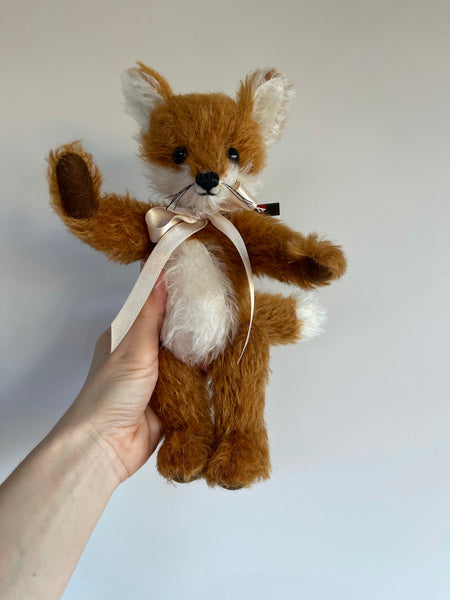 Merrythought Handmade Mohair Freddy Fox 9""