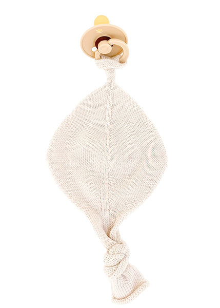 Hvid Titi Dummy Holder in Off White Merino Wool