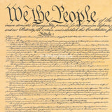 "Constitution of the United States 1787 - 12"" x 18"" Parchment Poster"