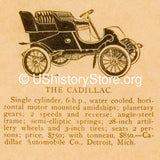 Automobiles in the 1880's and 1904