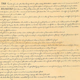 "Original Bill of Rights Replica - Big 23"" x 29"" Parchment Poster"