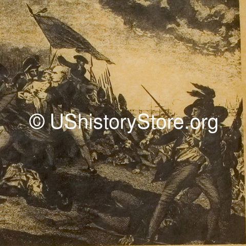 an account of events during the battle of bunker hill in 1775 Battle of bunker hill on 17th june 1775 in the american revolutionary war battle:  account of the battle of bunker hill: with the outbreak of the american.