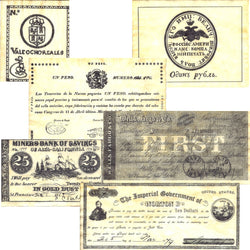 California Replica Currency 1782-1879