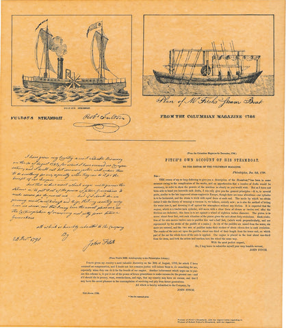 Fulton's Steamboat Pictorial
