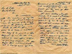 Ulysses S. Grant's Letter to Robert E. Lee 1865