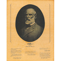 Robert E. Lee - Portrait and Thoughts