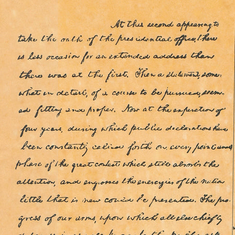 abraham lincolns second inaugural address essay In abraham lincoln's second inaugural address, he uses many different kinds of rhetorical strategies to unite a broken nation during the time of the speech, it is.