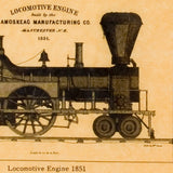 Locomotives in the 1800's
