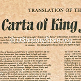 Magna Carta 1215 - English Translation