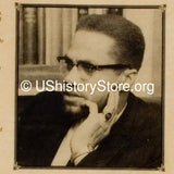 "Malcolm X, ""By Any Means Necessary"" 1964"
