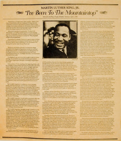 Dr. Martin Luther King Jr. - I've Been to the Mountaintop, 1968