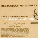 Florence Nightingale and The Beginnings of Modern Nursing - 1800s