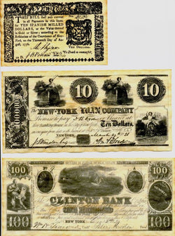 New York Replica Currency 1776-1864