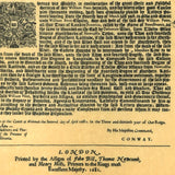 William Penn - Deed to Pennsylvania 1681