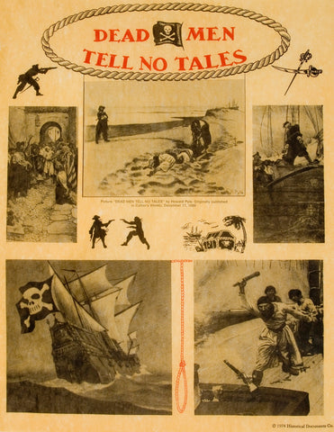 Dead Men Tell No tales and other Pirate pictures