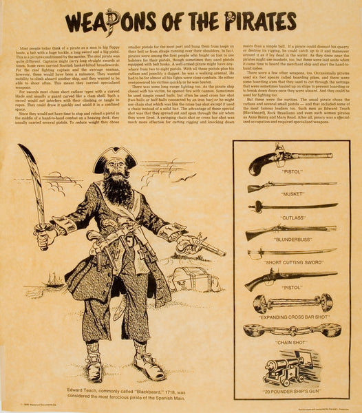Weapons of the Pirates