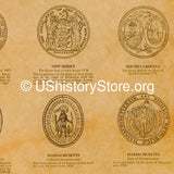Seals of the American Colonies 1606-1794