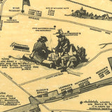 Valley Forge Park Map - Washington's Camp