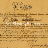 George Washington - Commission & Oath