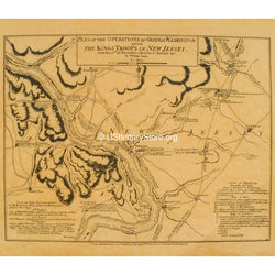 George Washington - Plan of Operations against the King's Troops in New Jersey