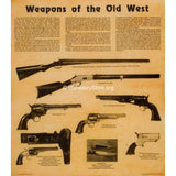 Weapons of the Old West 1800's