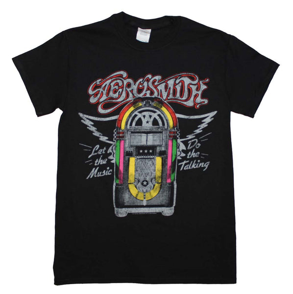 Aerosmith Juke Box T-Shirt Small - X Large