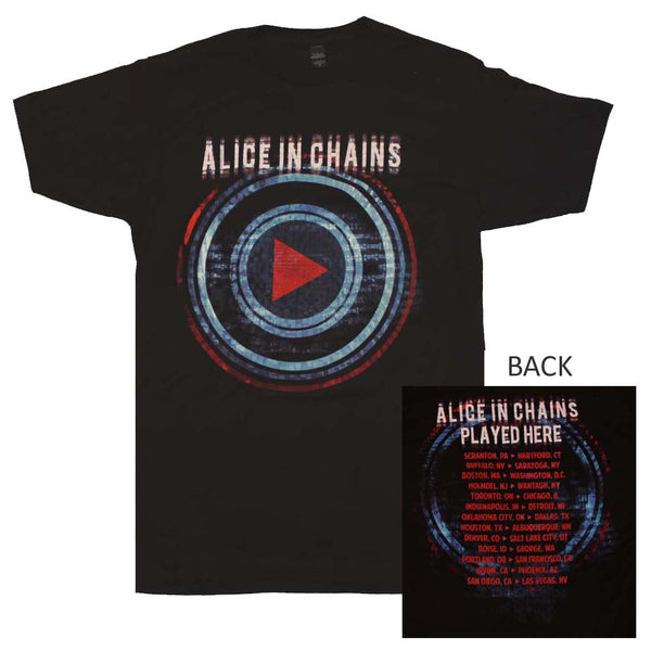 Alice in Chains Played Here Tour T-Shirt Small - X Large