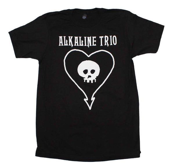 Alkaline Trio Classic Heartskull T-Shirt Small - X Large