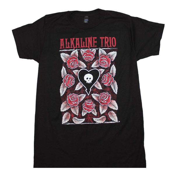 Alkaline Trio Roses T-Shirt Small - X Large