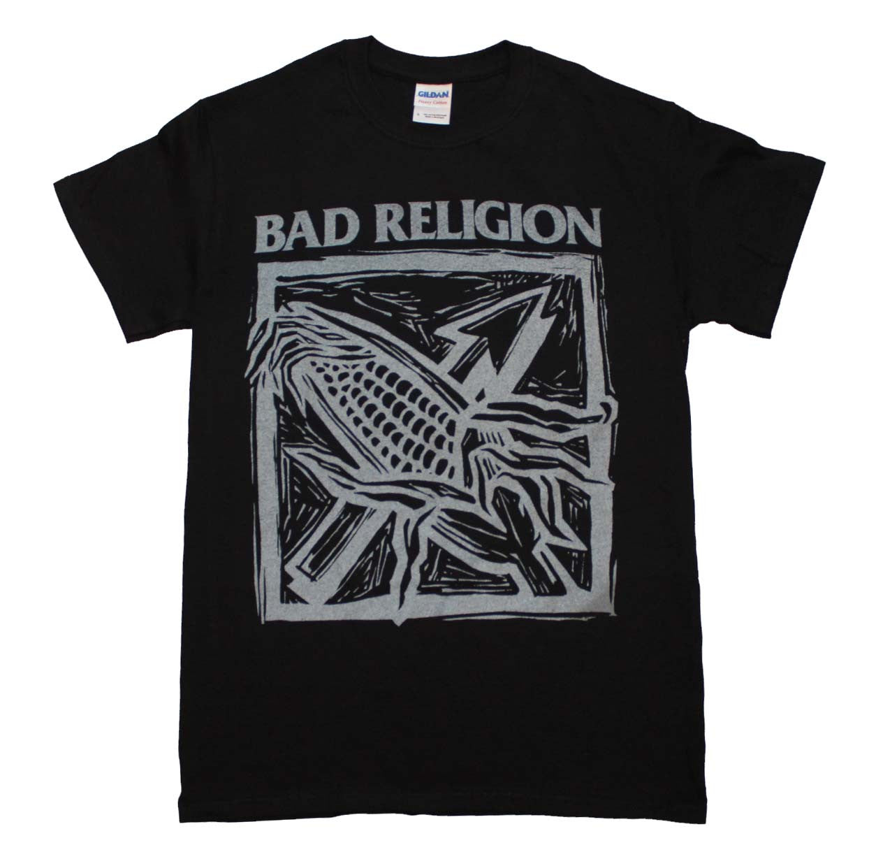 Bad Religion Against the Grain Black T-Shirt Small - X Large