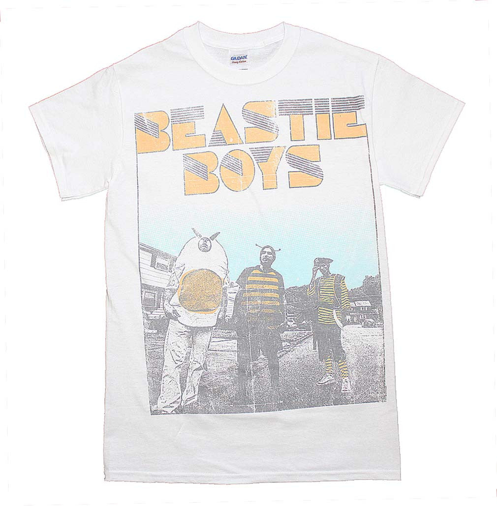 Beastie Boys Halftone T-Shirt Small - X Large