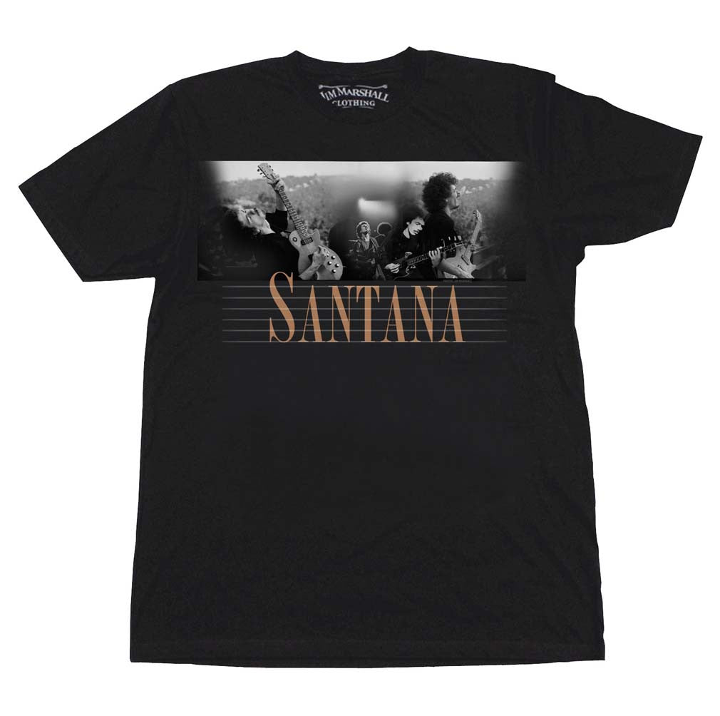 Carlos Santana Here and Then T-Shirt Small - X-Large