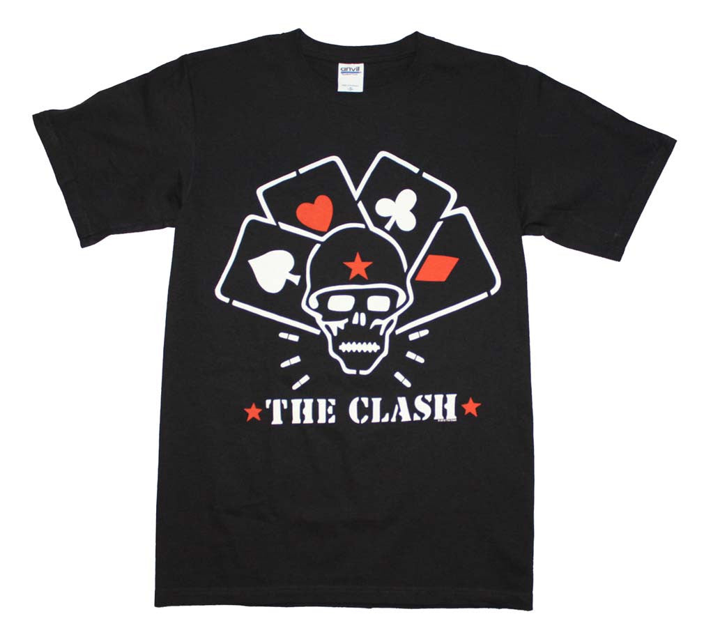 The Clash Straight to Hell Cards T-Shirt Small - X-Large