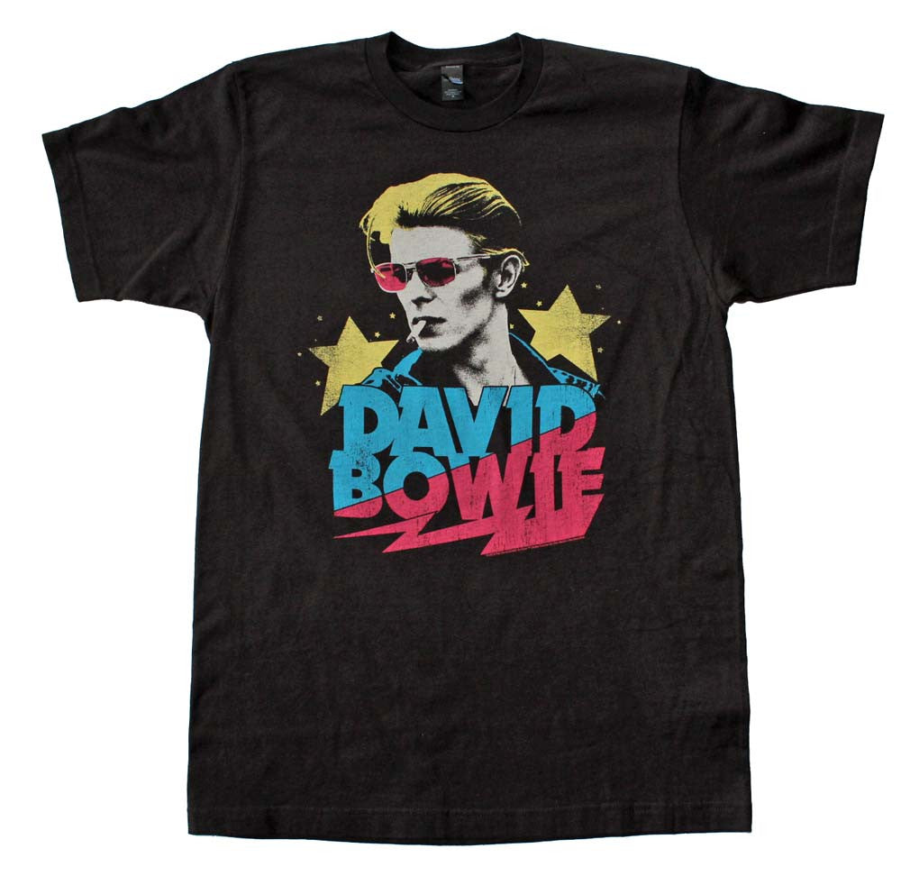 David Bowie Starman Soft T-Shirt Small- X-Large
