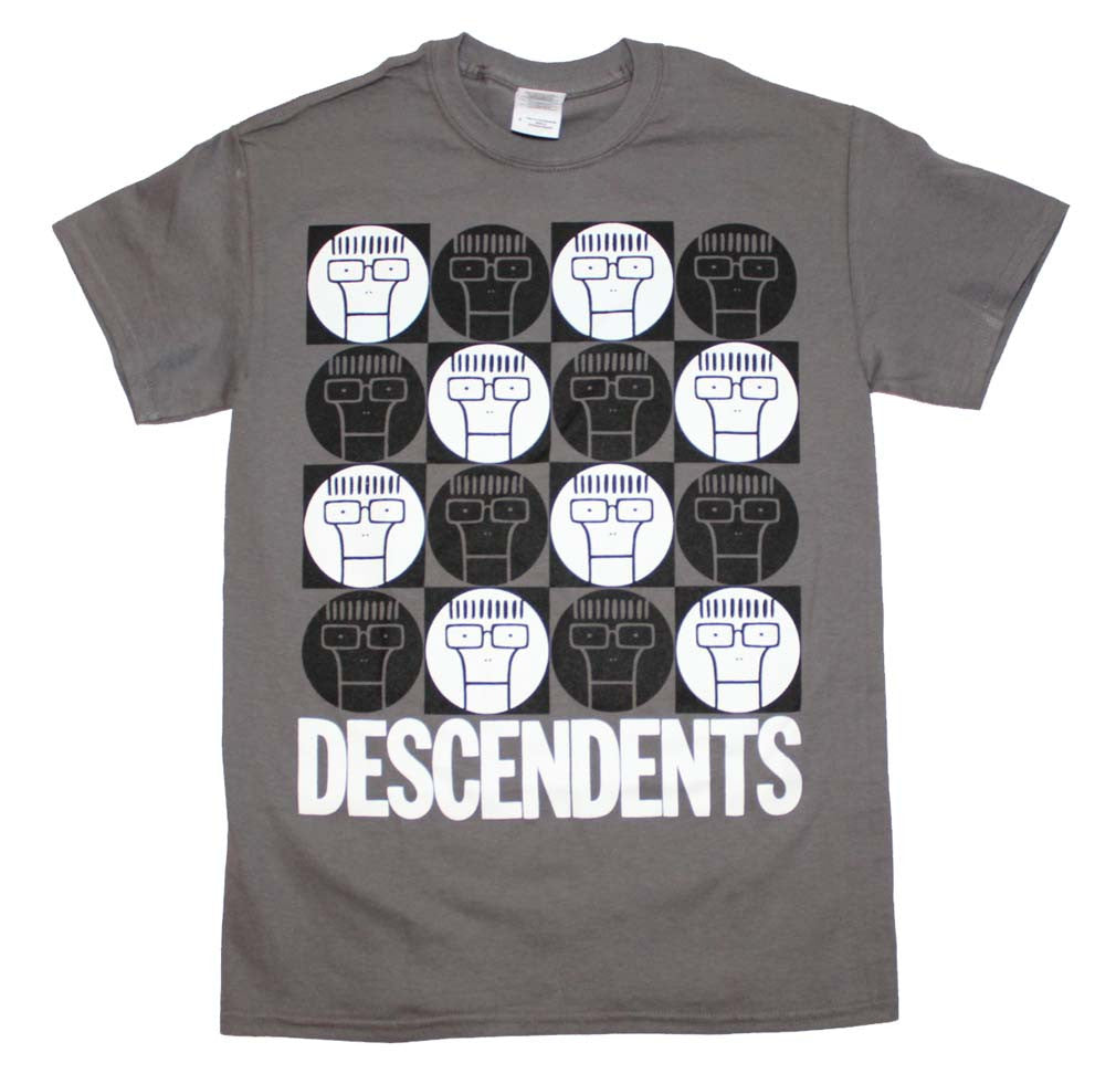 Descendents Milo Circle Pattern T-Shirt Small - X-Large